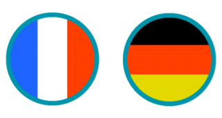 FrenchGermanFlags